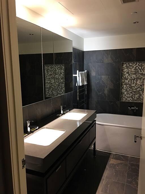 Luxury Bathroom 1 View.