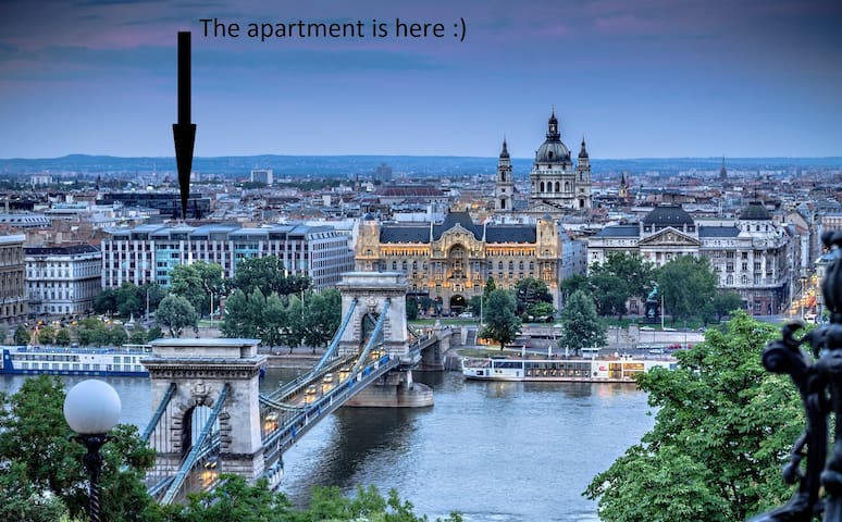 N14 60m2 Budapest City Center 2 Bedroom, + LivingR