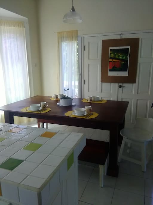 Kitchen - Dining area
