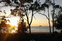 Sunrise From The Beach House Deck