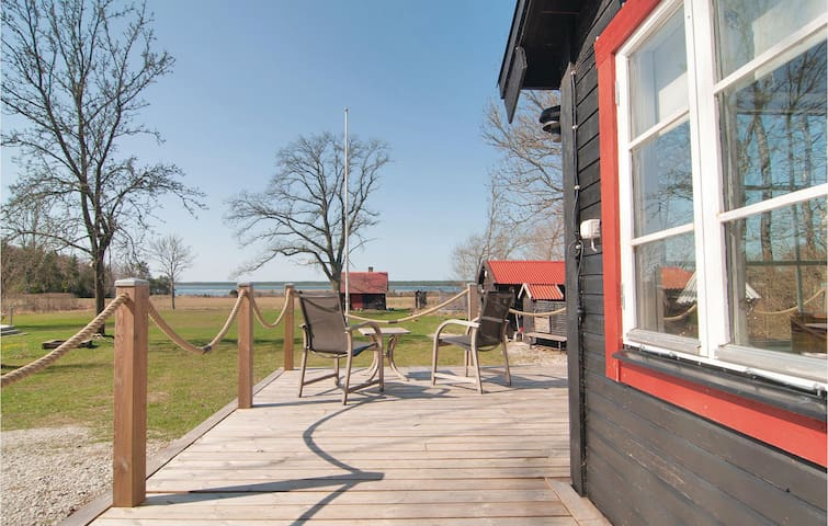 Holiday cottage with 1 bedroom on 25m² in Lärbro
