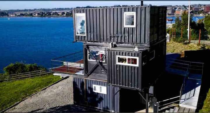 Casa CONTAINER Borde Lago > 7 pers