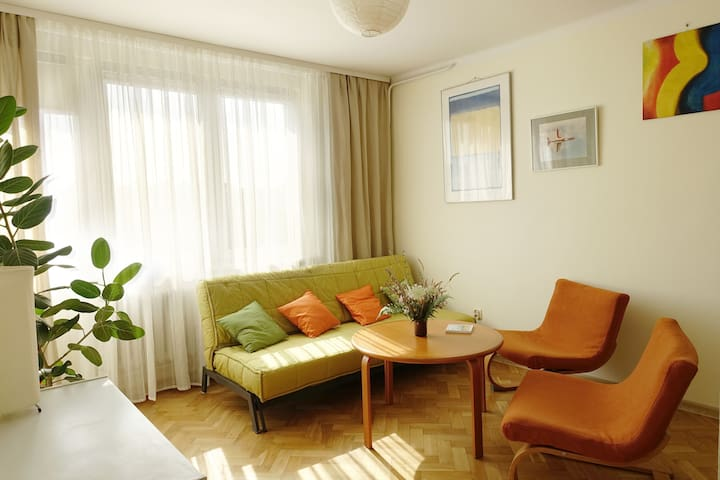 ⭐ Lullaby - comfy apartment in the ❤️ of Warsaw ⭐