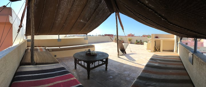 La Terrasse Nomade - Bright apartment with rooftop