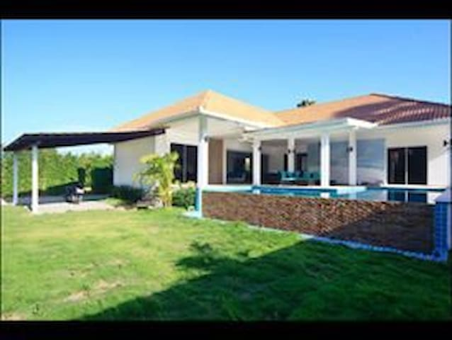 Villa Pascal: 292m2 3 bedroom villa - Ko Samui - Casa de camp