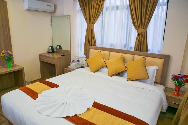 Double Bedroom at Sakura Boutique Hotel