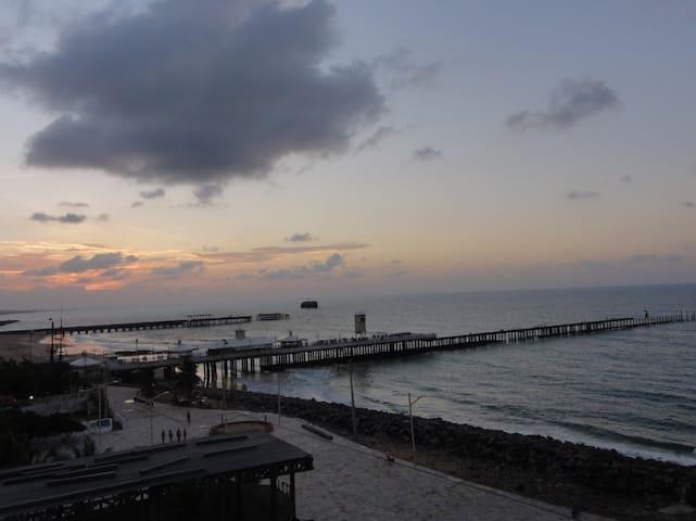 Flat , Praia de Iracema, hospedagem frente ao mar