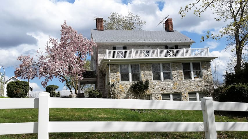 Stone House Mansion - 1757 - Hunter Room - Kearneysville - Casa