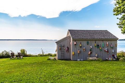Boathouse Cabin on ocean's edge