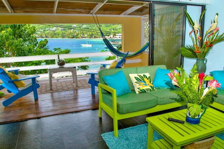 Azura Beach House 2 in Laborie