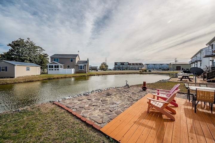 The Pearl at Grand Bay in the heart of Chincoteague Island!