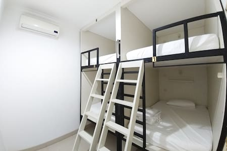 Private Room for 4 in a Big House PIK Near Airport - Penjaringan - Αρχοντικό