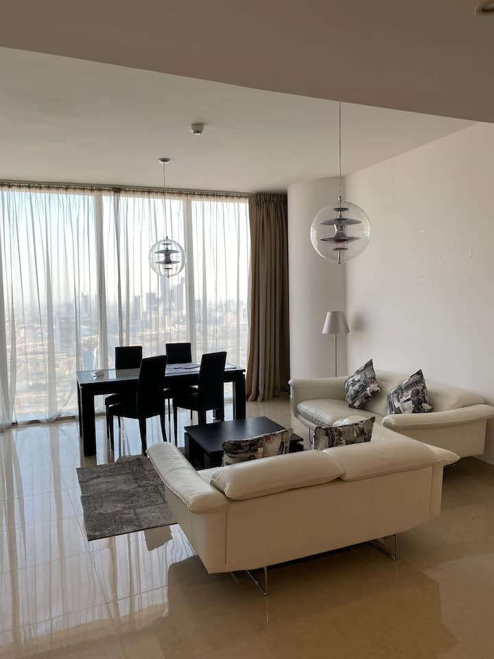 luxurious residential apartment in 46th floor