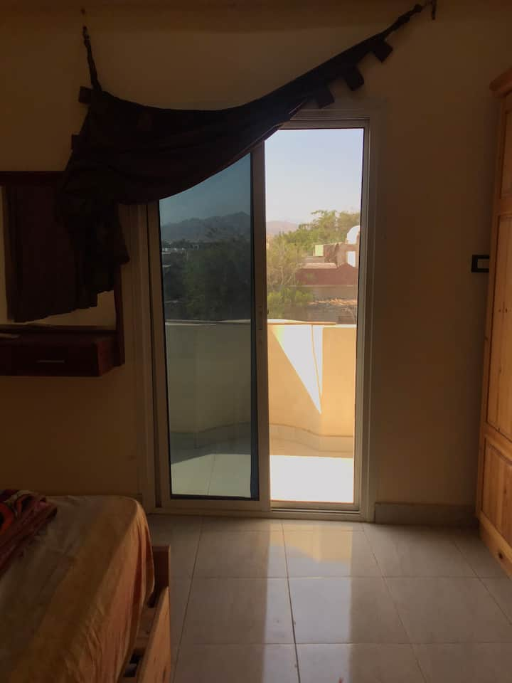 An apartment in the best area in Dahab