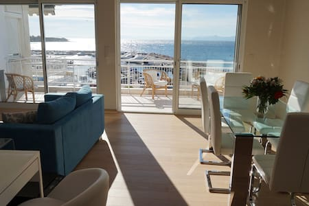 Superb beachfront apartment in Athens+home cinema - 雅典 - 公寓