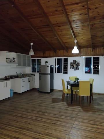 Apartamento en madera muy relax / natural house