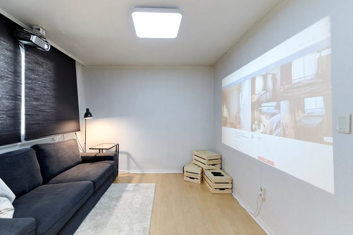 House with Projector room_5min from Itaewon St