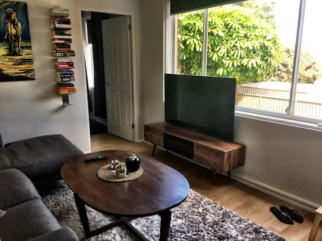 1 bed apt near Airport & City, free wifi + netflix