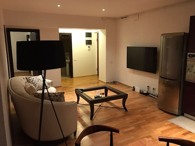Luxury 1BD apt-undgrd parking incl. - Voluntari - Appartamento
