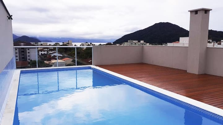 Beautiful new studio in Itaguá, Ubatuba