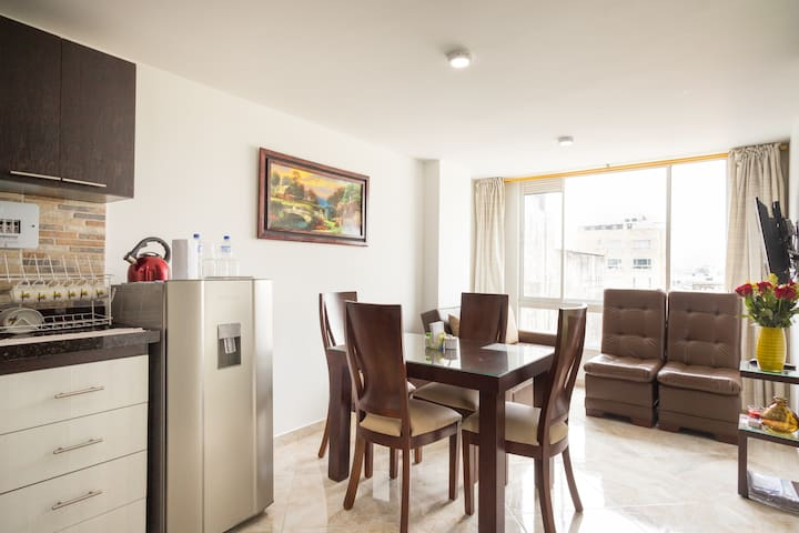 Cozy apartment near Airport El Dorado