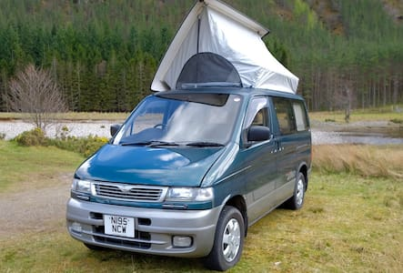 MAZDA BONGO 2.5 TD CAMPER FOR HIRE DUNDEE - Monifieth
