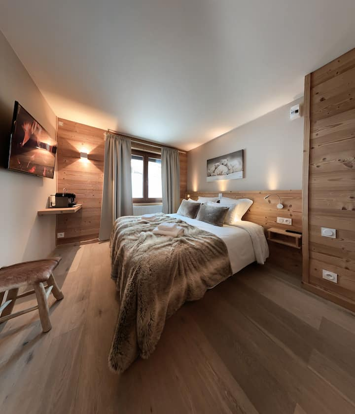 Chambre Familiale Premium - Vallée Blanche