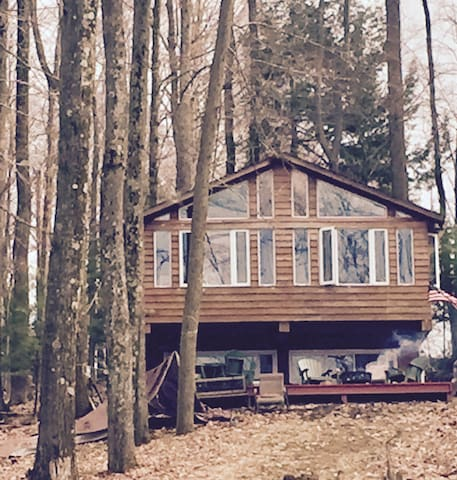 Cabin feel right on the big lake!