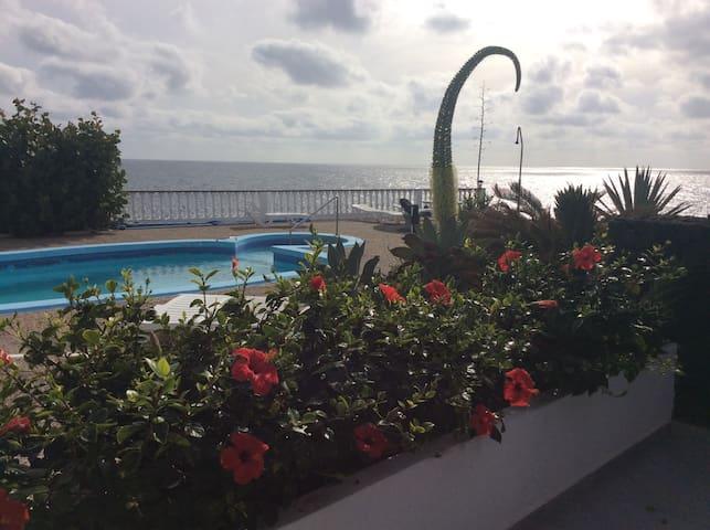 FKK direkt am Meer, Finca Del Mar - Charco del Palo - Apartemen