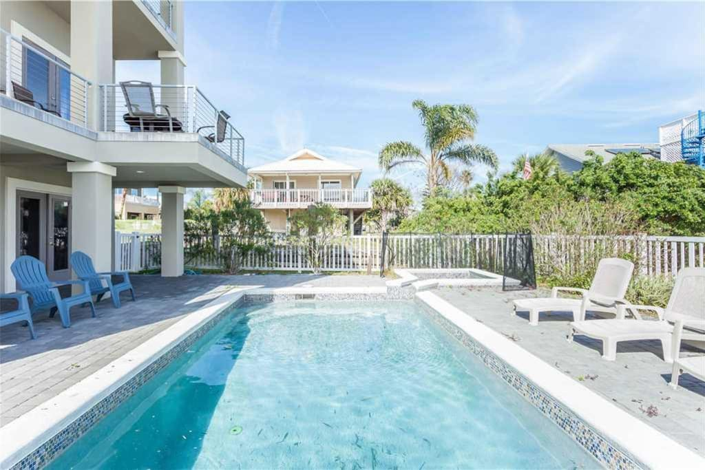 Welcome to Augustine Sunset - This newly constructed home offers exceptional views of the ocean and Intracoastal Waterway. You'll