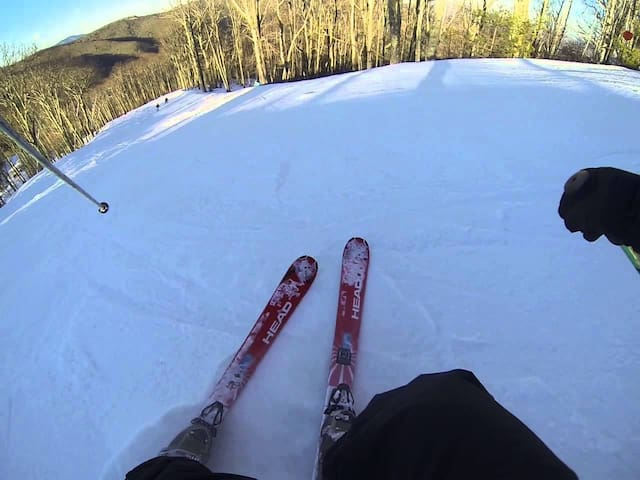 "Skiing ""O My Gosh"" slope"