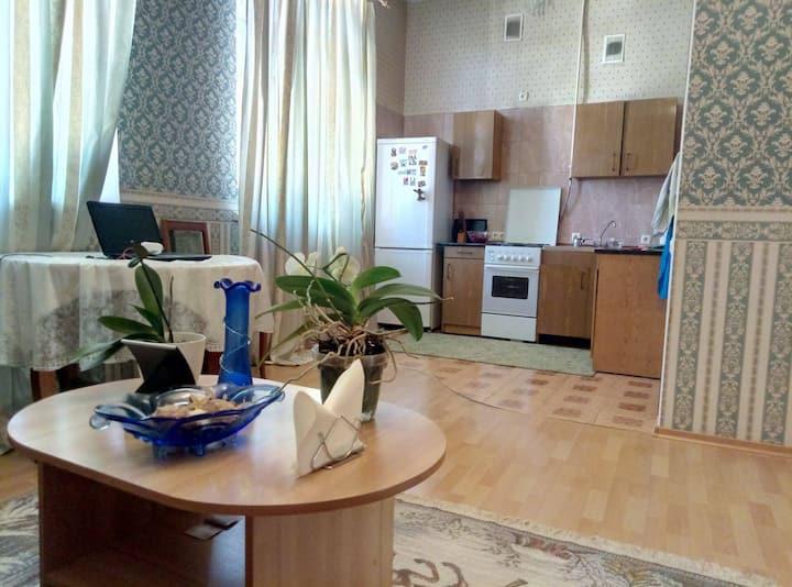 L'apartement au centre de Kiev