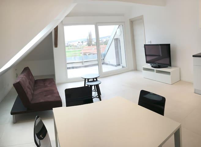 Appartement Gîte Neuf 2-4 personnes 5 min Cattenom - Manom - Apartemen