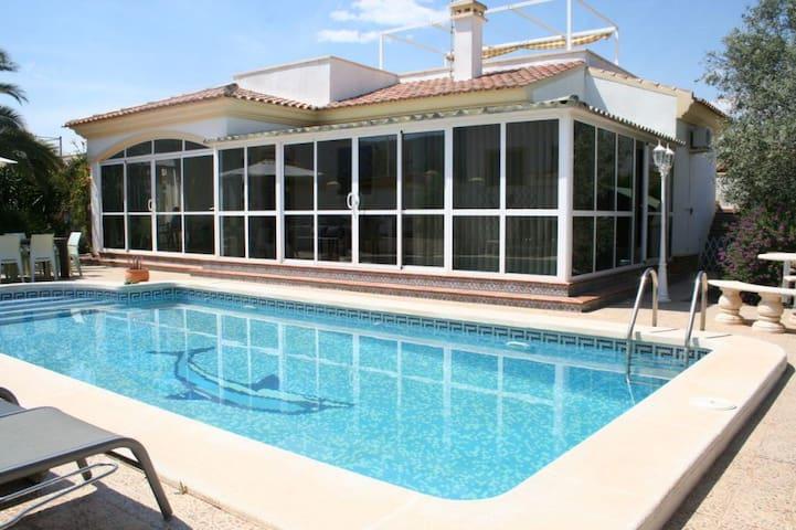 Villa met zwembad in de vallei regio Elx/Alicante - Hondón de las Nieves - Holiday home