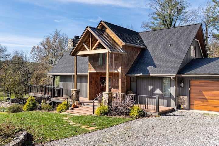 Breathtaking home in desirable Fairview, NC!
