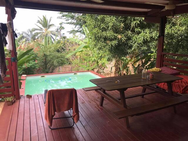 Maison piscine Hajangua
