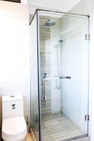 Third Bedroom bathroom with shower