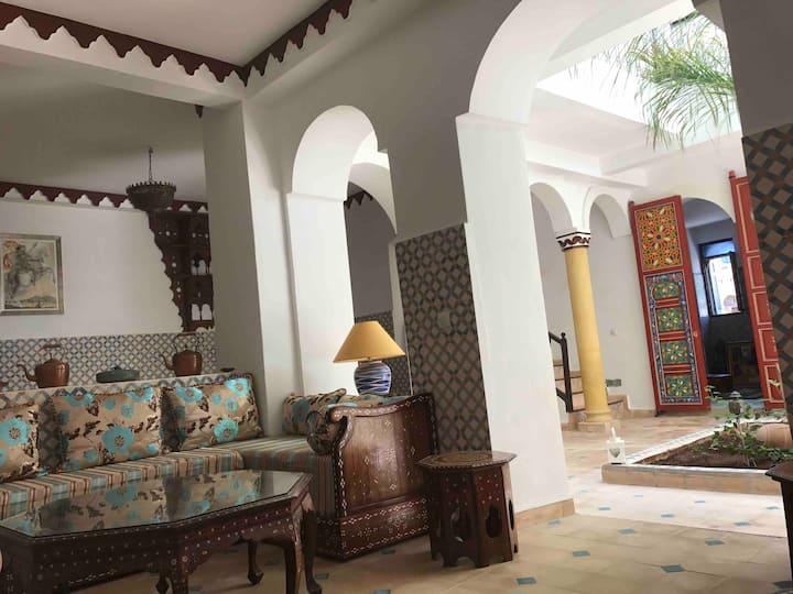 Dar Tibibt : superbe Riad pour une échappée belle