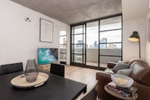 Stylish loft-style apartment