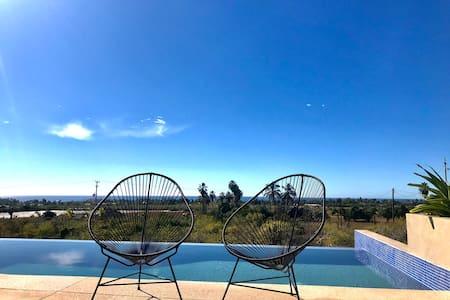 Panoramic Ocean views!!! Pescadero