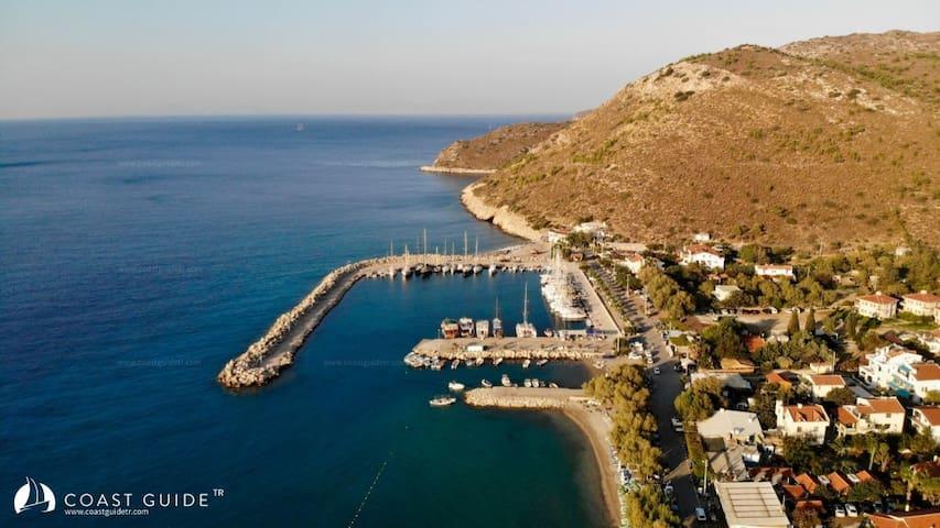 Datça Palamutbükü Denize Sıfır Villa
