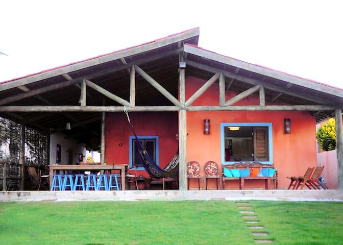 charmosa casa com linda vista para o mar - São Gonçalo do Amarante - House