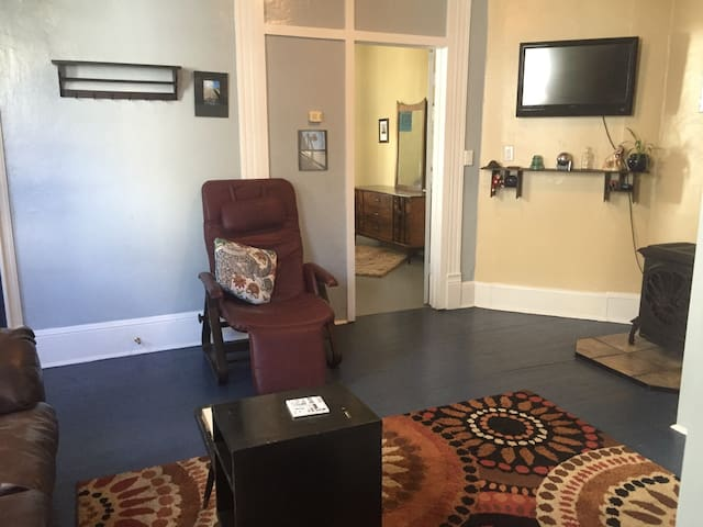 Privacy at its best. 1 bedroom Apt. - Roanoke - Apartamento