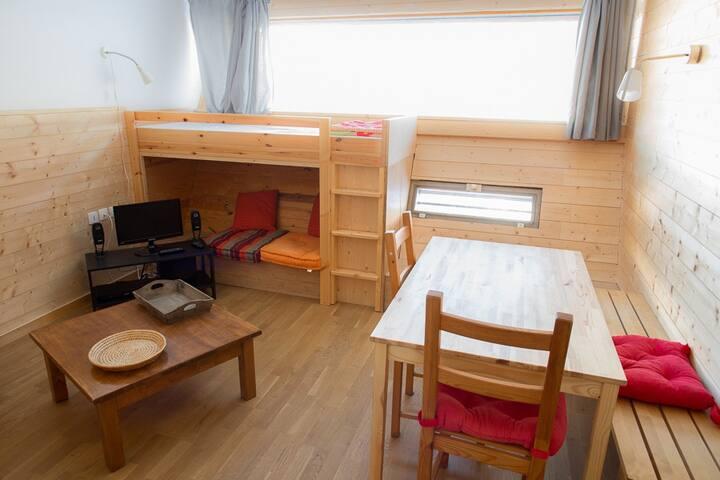 Appartement à louer au pied des piste ARC 1600