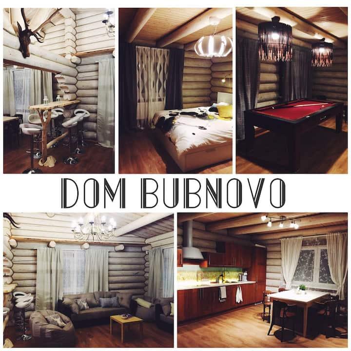 Деревянный уютный дом с душевной атмосферой