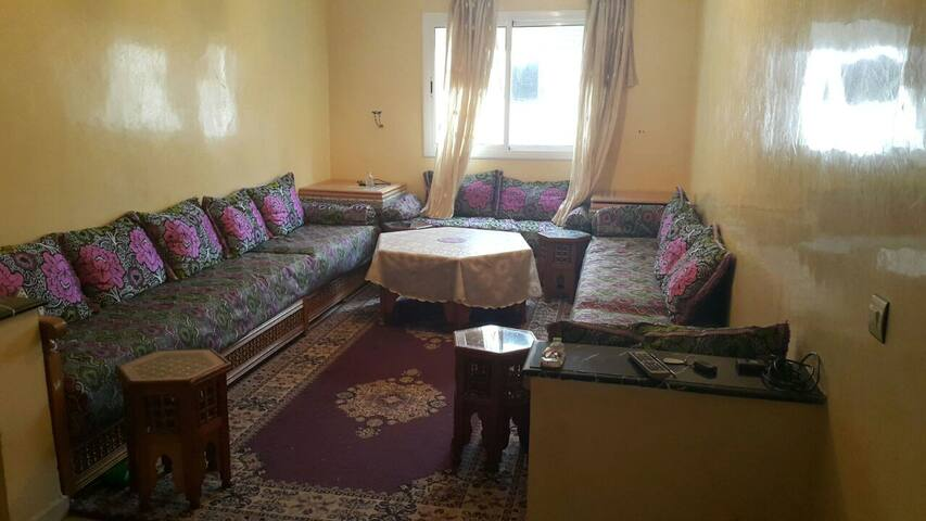 Apartment in tangier equipped (2 rooms)