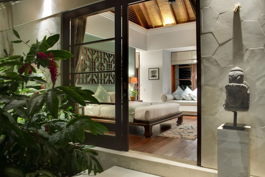 This suite is the only private pavilion within the compound.