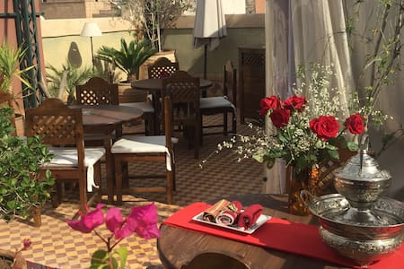 Riad  in Exclusivity 28 persons - Marrakech - Bed & Breakfast
