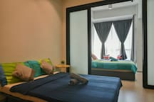 New!! CozyHome #4, 2 Bedrooms, 350m to KLCC Tower
