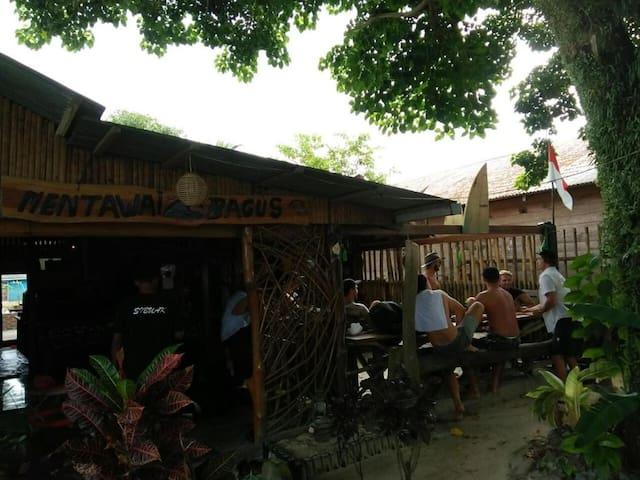 Mentawai Bagus Local Homestay - Cabin Room
